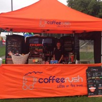 Coffee Rush gazebo in Lowestoft