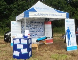 Norfolk Bowen Therapy gazebo