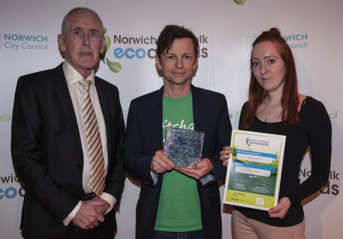 Liftshare.com who won the Norwich and Norfolk Eco Hero award