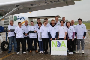 Norfolk Deaf Association Tandem Parachute Jump Fundraising Success