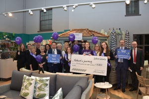 £5800 raised for local charity Nelson's Journey
