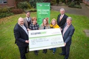 Local charities bag £3,000 from residents who recycle