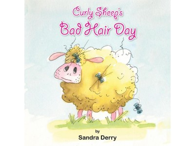 Curly Sheep's Bad Hair Day by Sandra Derry