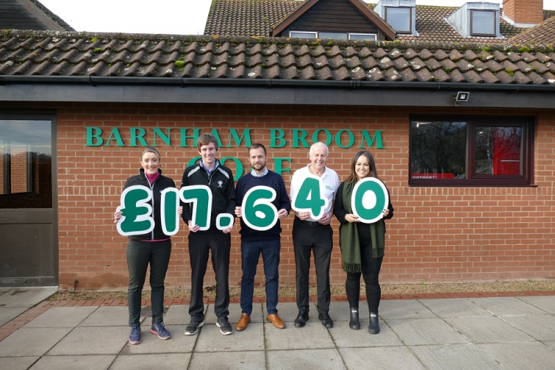 Barnham Broom's Graham Knights Achieves Record Donation