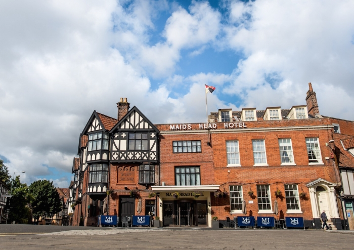 Historic Maids Head Hotel, Norwich to re-open from lockdown on Saturday, July 4