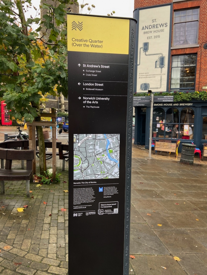 Wayfinding and Wifi make navigating the city easy