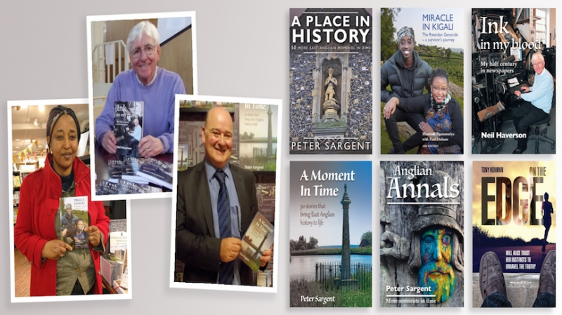 Win a collection of fabulous local books published by Paul Dickson Books