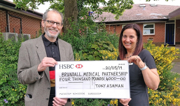 On The Edge 'book surgeries' raise £4,000 for Brundall Medical Centre