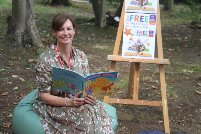 Children's author on charity's 'fantastic' free books for kids scheme