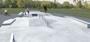 Work starts on new skate park at Cobholm