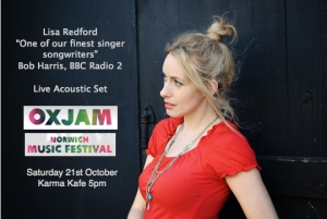 Lisa Redford Unplugged : Deepdale to Oxjam