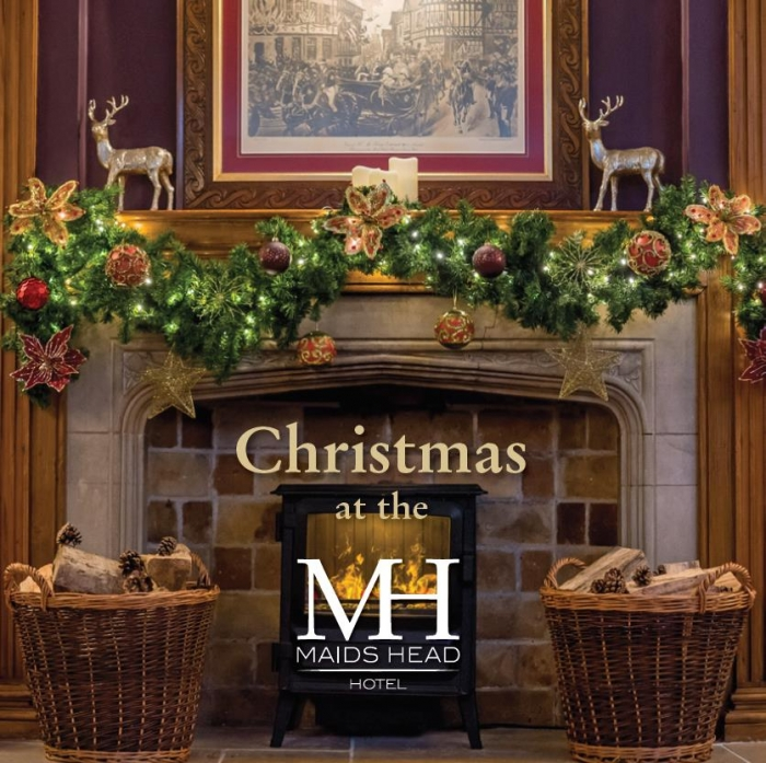 Christmas at the oldest hotel in the UK