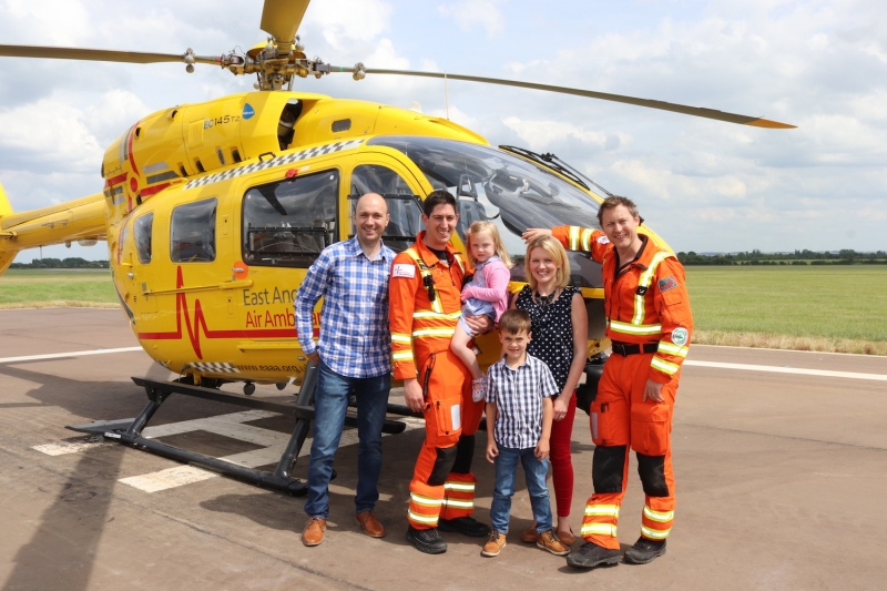 Help East Anglian Air Ambulance keep families together this Christmas