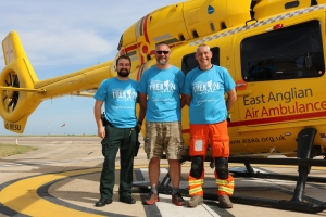 Paramedics to trek 24 miles next week for charity