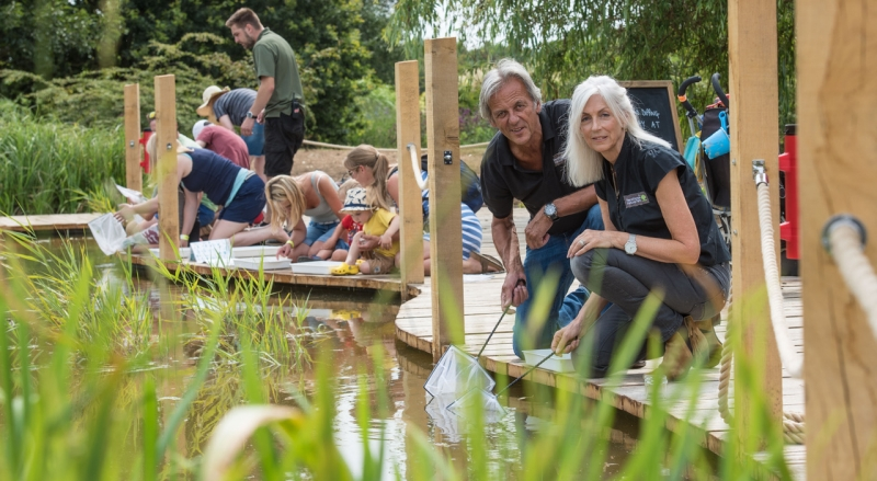 New Wetland Discovery Area launches at Pensthorpe Natural Park