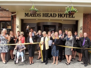 Maids Head Hotel New Entrance Launch