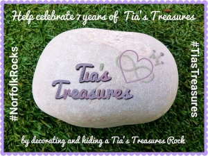Help celebrate 7 years of Tia's Treasures