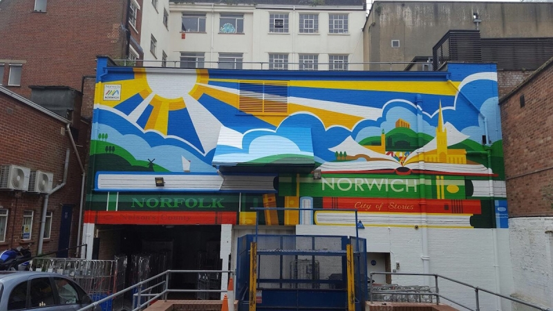 Street Artists wanted for latest urban art project in Norwich