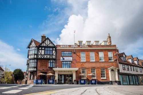 Maids Head Hotel Norwich Achieves AA Four Star Silver Award