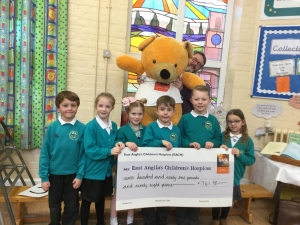 How schoolchildren are helping EACH provide a new hospice for Norfolk