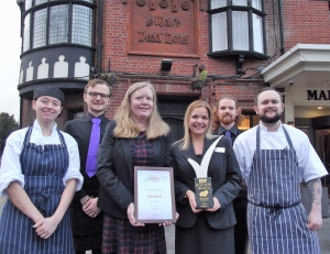 The Maids Head Hotel Norwich Wins Best Employer at Norfolk Business Awards