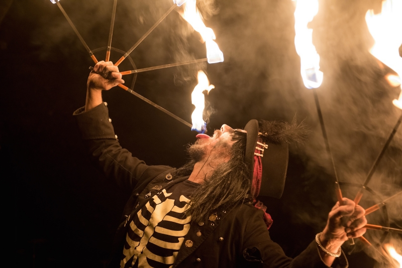 Win a family ticket to Fairhaven's Cirque de Bizarre Halloween Party