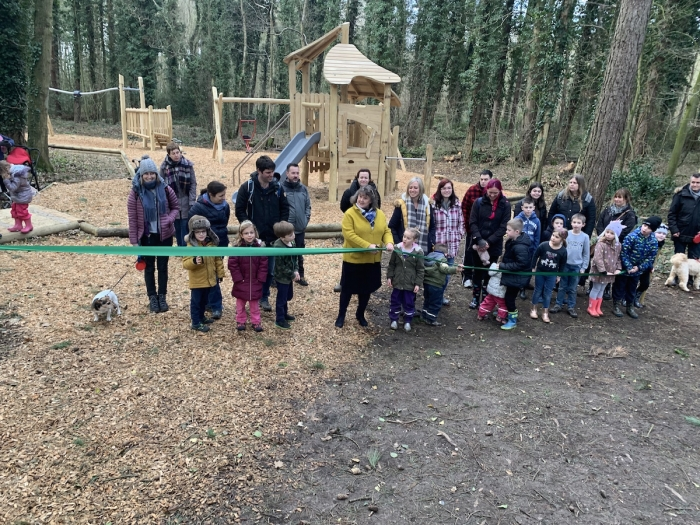 New play area unveiled in Holt Country Park