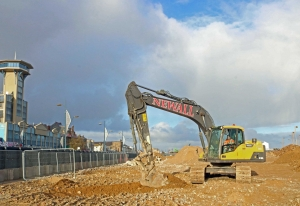 Ground-breaking marks start of construction of new Marina Centre in Great Yarmouth