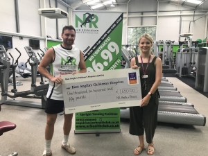 Wymondham fitness club keeps wheels moving for charity